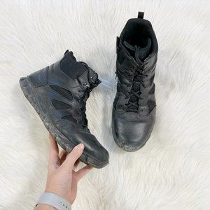 REEBOK Tactical Duty Black Ankle Boot Leather